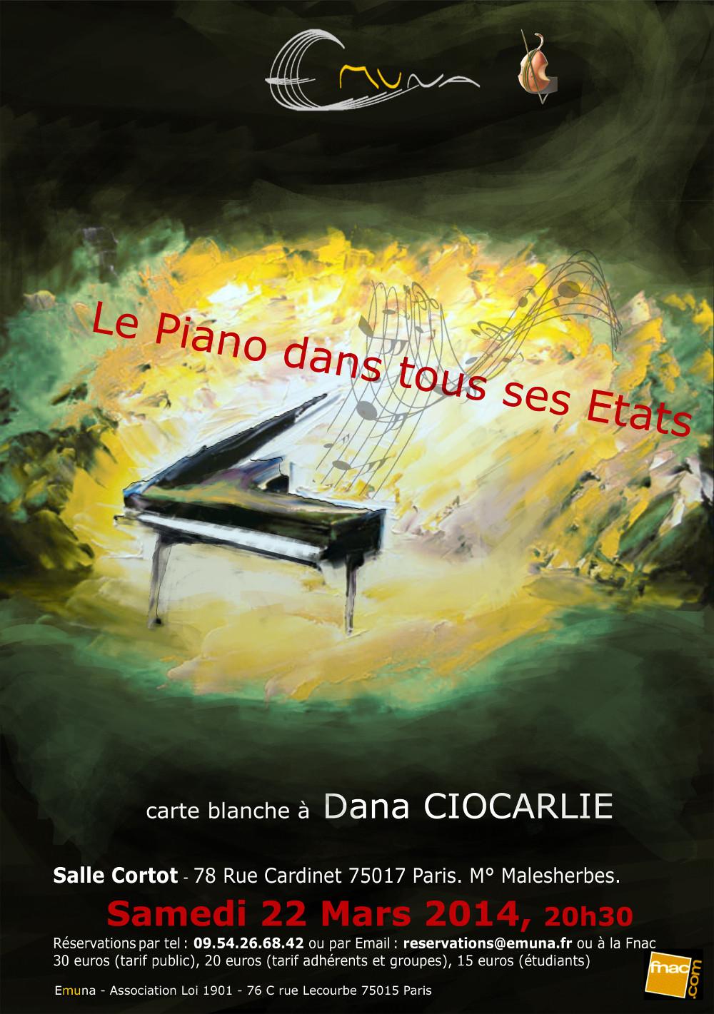 Le piano dans tous ses états : flyer