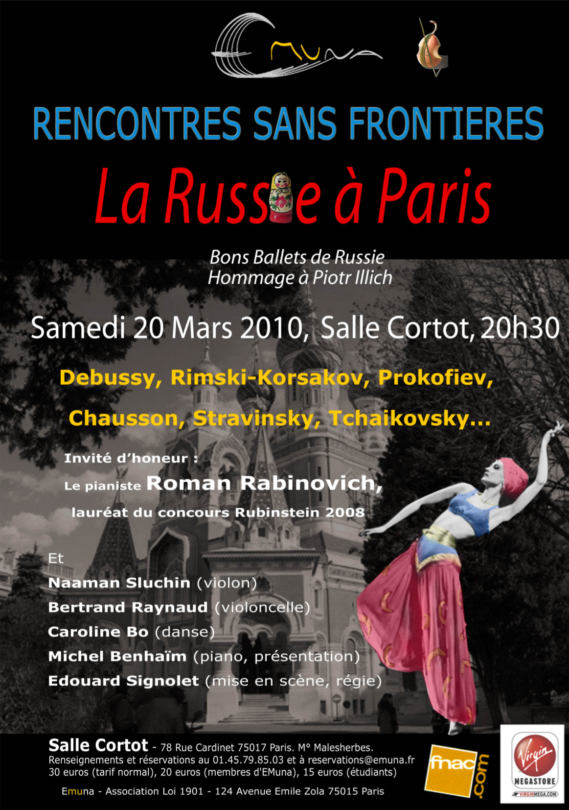 Flyer La Russie à Paris